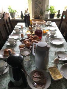Breakfast - Mykines